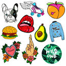 Pack Of 10 Vinyl Stickers