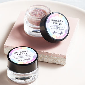 'Unicorn Kisses' Glitter Lip Gloss - best valentine's gifts