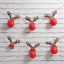 'Christmas Reindeer Balloon Advent Calendar