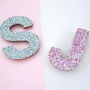 Chocolate Letters With Sprinkles