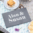 Personalised Names Slate Board