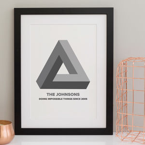 Personalised Impossible Family Print - personalised