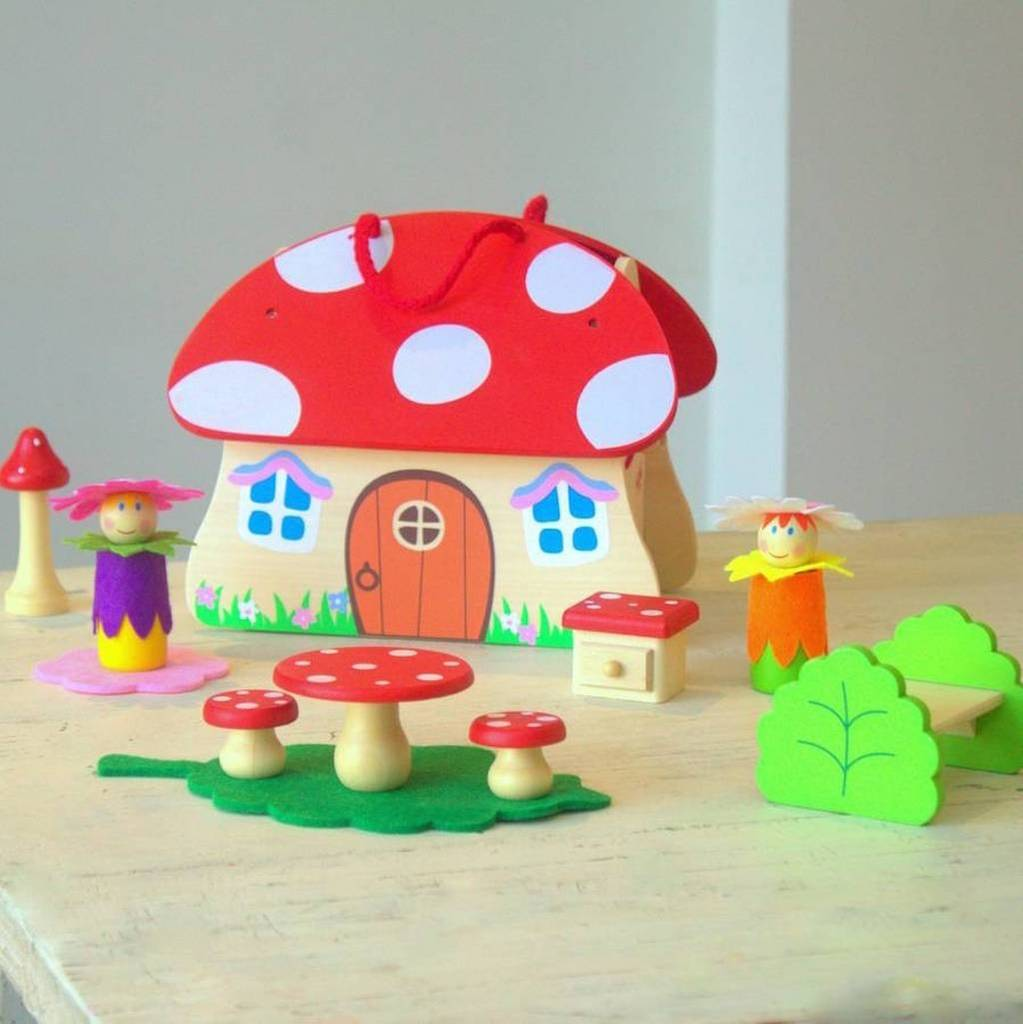 Woodland Fairy Toadstool House