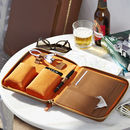 Personalised Luxury Leather Tech Case For Him