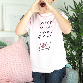 Children's Voice Of The Next Generation T Shirt
