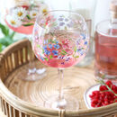 Sweet Pea Balloon Gin Glass