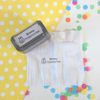 Child's Name Self Inking Stamp