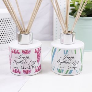 Personalised Mother's Day Patterned Reed Diffuser - home accessories