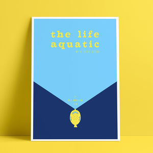 The Life Aquatic Glicée Print