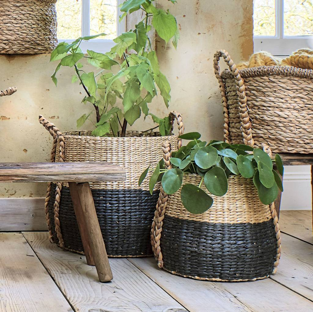 Ramon Straw Storage Baskets