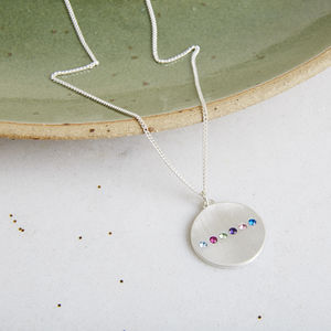 Secret Date Necklace - personalised gifts for her