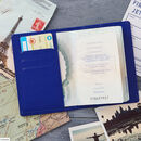 Ticket To Adventure Personalised Passport Holder