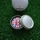 Personalised Initial Union Jack Golf Ball Marker