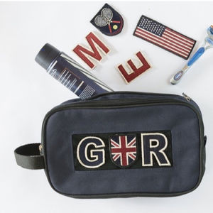 Personalised Sports Wash Bag - men's grooming & toiletries