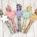 Children's Confetti Wand Box White Star