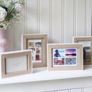 White And Wood Frame