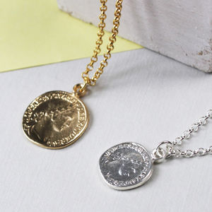 Personalised Coin Necklace - necklaces & pendants