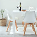 Inspirational Winter White Dining Chairs