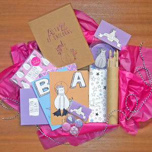 A Z Of Unicorns Gift Box