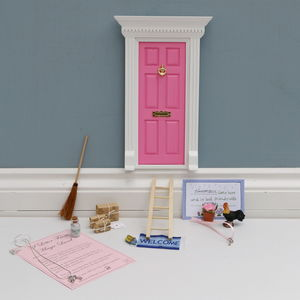 Magical Fairy Door And Necklace Gift Set - bathroom