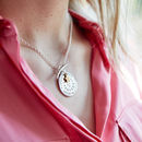 Personalised Medallion Necklace