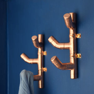 Copper Coat Hook Cacti Style - home accessories