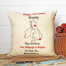 Together At Christmas Cushion