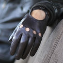 Cooper. Men's Classic Leather Driving Gloves