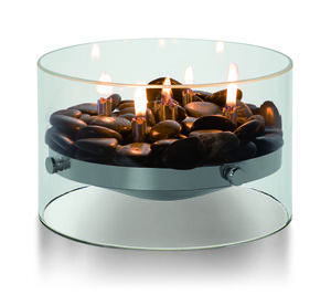 Celebration Indoor Glass Table Fire Pit L