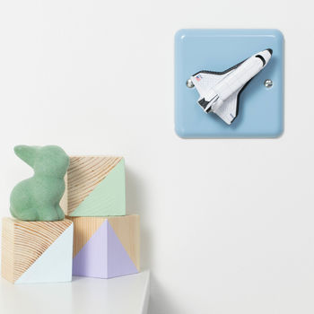 Outer Space Nursery Dimmer Switch For Newborns
