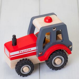 Childrens Tractor Wooden Toys