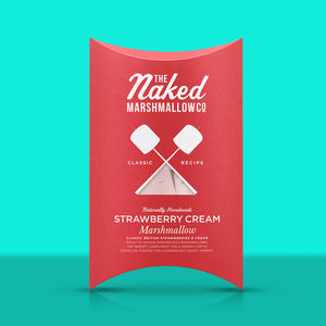 Strawberry Cream Gourmet Marshmallows