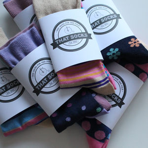 Ladies' Socks Subscription To That Socks - subscription gifts