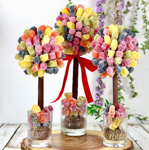 Personalised Jelly Baby Sweet Tree - novelty chocolates