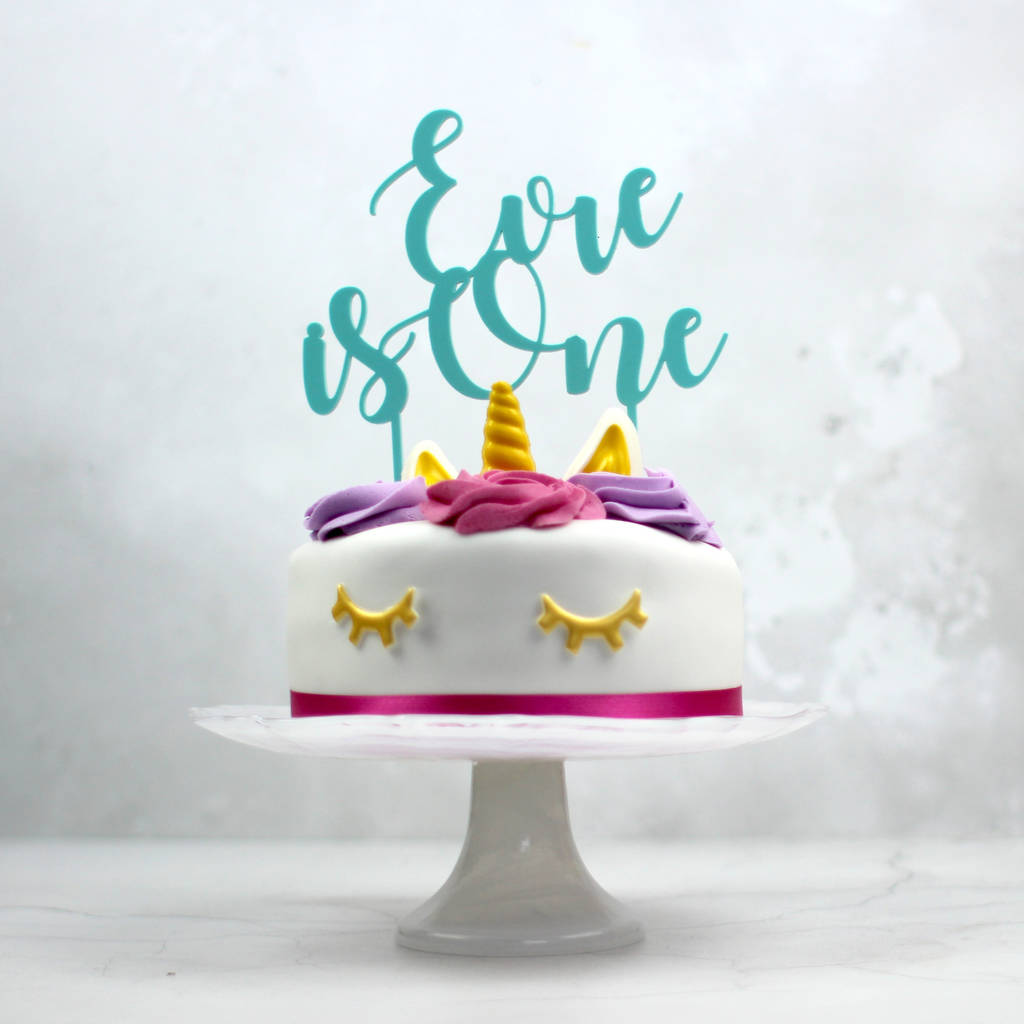 Awesome First Birthday Cake Topper Personalised By Rocket And Fox Personalised Birthday Cards Paralily Jamesorg