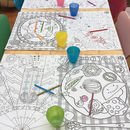 Colour In Placemats Six Placemats