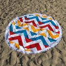 Marmaris Roundie Beach Towel