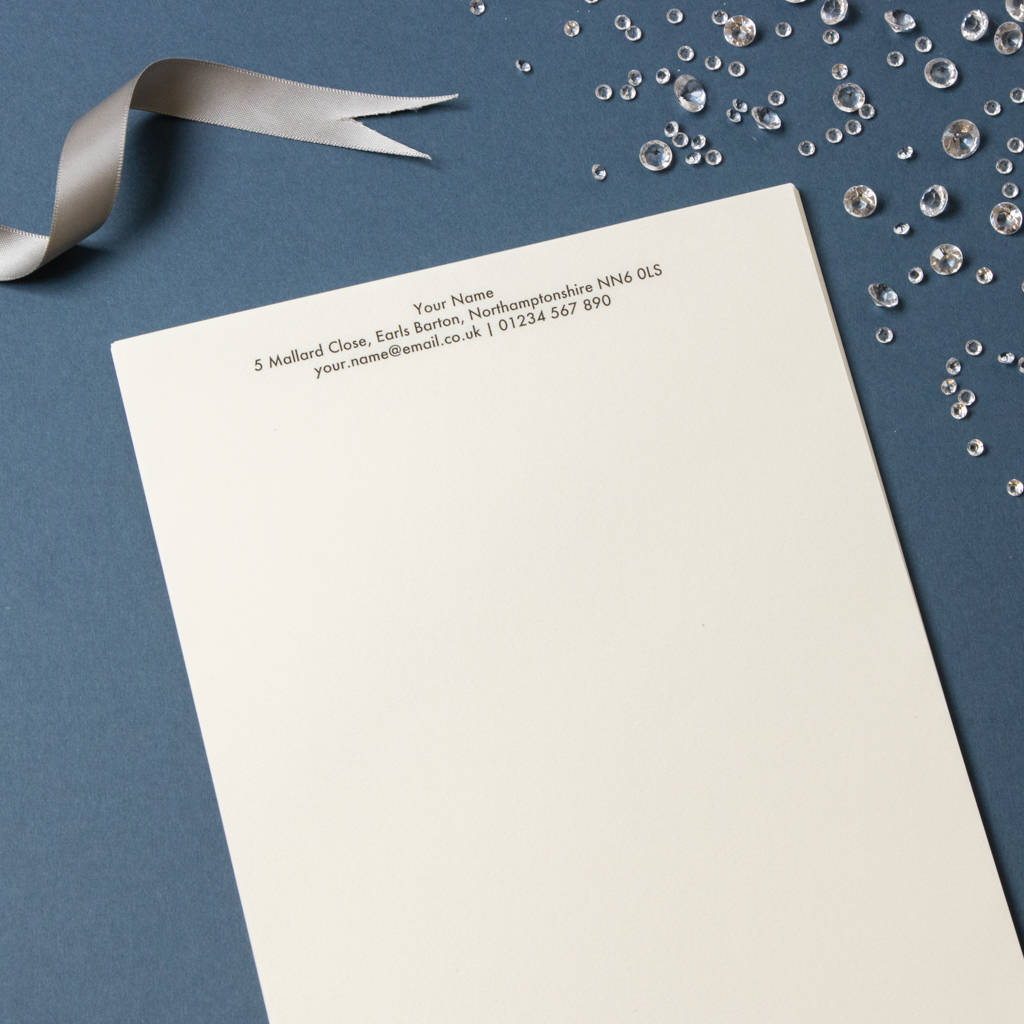 luxury writing paper uk