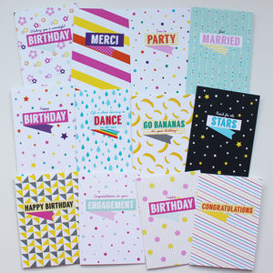 Pack Of 12 Greeting Cards