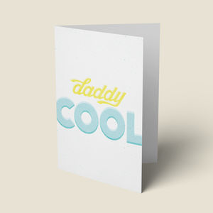 'Daddy Cool' Fathers Day Card