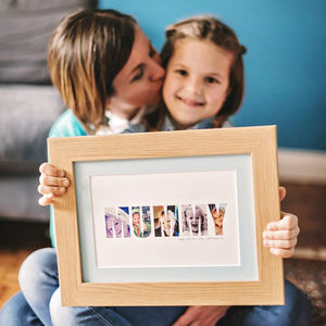 Personalised 'Mummy' Photograph Print By Hello Ruth - photography & portraits