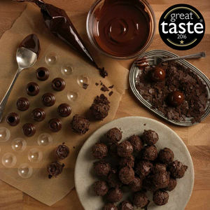 Make Your Own Dark Chocolate Truffle Kit