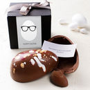 Egg Head Personalised Chocolate Easter Egg