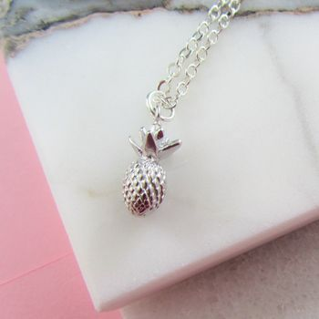 Pineapple Charm Necklace Gift For Her