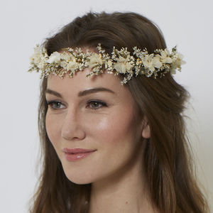 Elsie Infinity Crown - bridal hairpieces