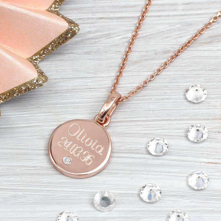 is loading pendant itm gift s any personalised necklace photo keepsake for silver image her