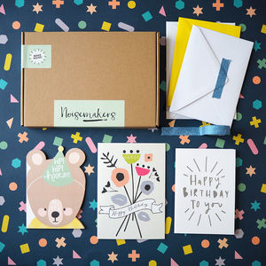 Happy Mail Birthday Card Stationery Box