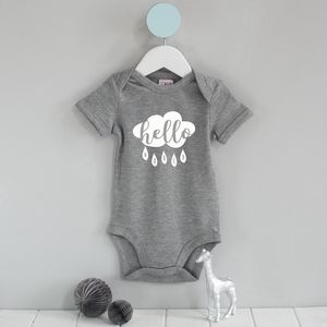 Hello World Cloud Babygrow