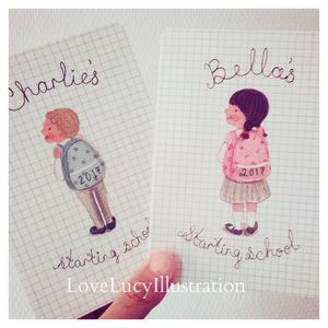 Personalised Starting School Card - shop by category