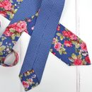 Handmade Mix And Match Personalised Tie : Blue Rose